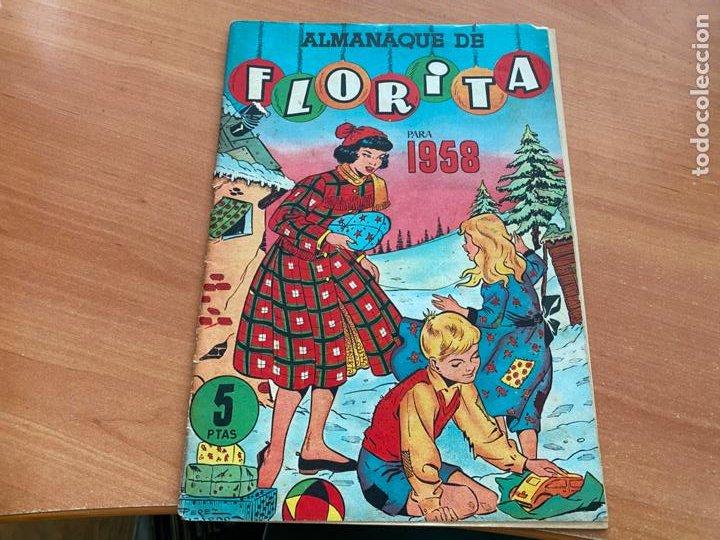 Tebeos: FLORITA LOTE ALMANAQUE 1955 1958 1959 1960 Y 1961 y nº 200 (CLIPER) ORIGINAL (COIB9) - Foto 6 - 254364855