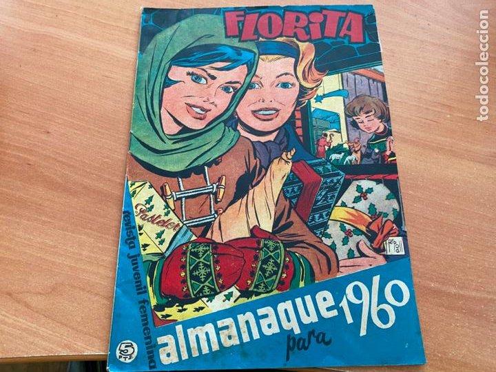 Tebeos: FLORITA LOTE ALMANAQUE 1955 1958 1959 1960 Y 1961 y nº 200 (CLIPER) ORIGINAL (COIB9) - Foto 10 - 254364855