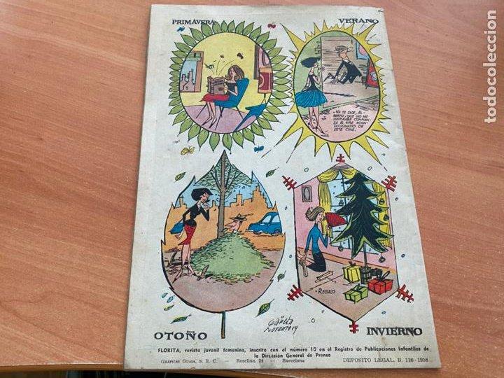 Tebeos: FLORITA LOTE ALMANAQUE 1955 1958 1959 1960 Y 1961 y nº 200 (CLIPER) ORIGINAL (COIB9) - Foto 11 - 254364855