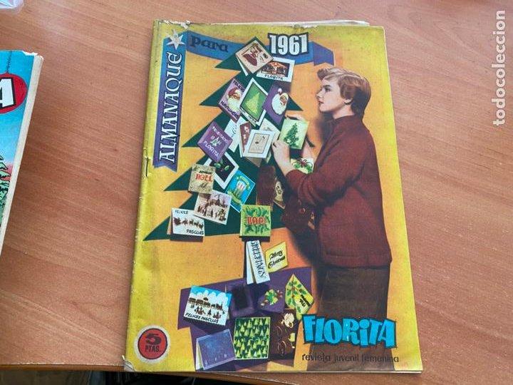 Tebeos: FLORITA LOTE ALMANAQUE 1955 1958 1959 1960 Y 1961 y nº 200 (CLIPER) ORIGINAL (COIB9) - Foto 12 - 254364855