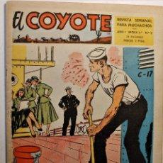 Tebeos: EL COYOTE, 2ª ÉPOCA, EDITORIAL CLIPER 1954, NÚMERO 2. Lote 254407900