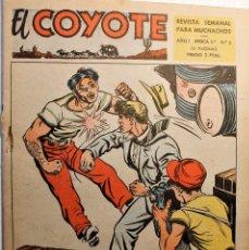 Tebeos: EL COYOTE, 2ª ÉPOCA, EDITORIAL CLIPER 1954, NÚMERO 3. Lote 254408420