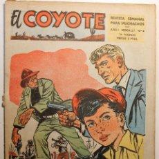 Tebeos: EL COYOTE, 2ª ÉPOCA, EDITORIAL CLIPER 1954, NÚMERO 4. Lote 254408910