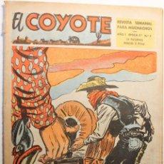 Tebeos: EL COYOTE, 2ª ÉPOCA, EDITORIAL CLIPER 1954, NÚMERO 5. Lote 254409625