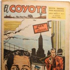 Tebeos: EL COYOTE, 2ª ÉPOCA, EDITORIAL CLIPER 1954, NÚMERO 6. Lote 254410500