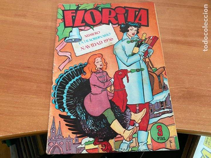FLORITA EXTRA NAVIDAD 1956 (CLIPER) ORIGINAL (COIB9) (Tebeos y Comics - Cliper - Florita)