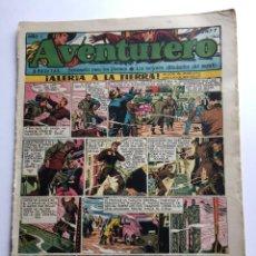 Tebeos: AVENTURERO SEMANARIO PARA LOS JÓVENES, AÑO 1, NÚM. 7, ED. FUTURO, AÑOS 50. Lote 254804995
