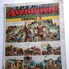 Tebeos: AVENTURERO SEMANARIO PARA LOS JÓVENES, AÑO 1, NÚM.21, ED. FUTURO, AÑOS 50. Lote 254805285