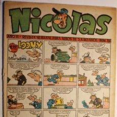 Tebeos: NICOLAS, EDITORIAL CLIPER 1948, NÚMERO ORIGINAL 154. Lote 255565600