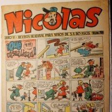 Tebeos: NICOLAS, EDITORIAL CLIPER 1948, NÚMERO ORIGINAL 156. Lote 255566240