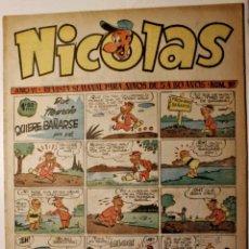 Giornalini: NICOLAS, EDITORIAL CLIPER 1948, NÚMERO ORIGINAL 157. Lote 255566805