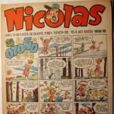 Tebeos: NICOLAS, EDITORIAL CLIPER 1948, NÚMERO ORIGINAL 161. Lote 255568275