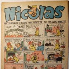 Tebeos: NICOLAS, EDITORIAL CLIPER 1948, NÚMERO ORIGINAL 173. Lote 255577180