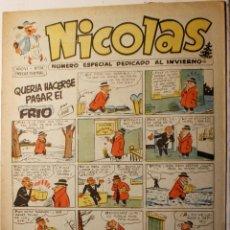 Giornalini: NICOLAS, EDITORIAL CLIPER 1948, NÚMERO ORIGINAL 174. Lote 255577720