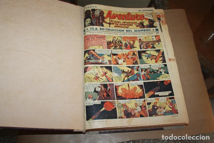 AVENTURERO , TOMO CASERO, 118 NÚMEROS(DEL 1 AL 118 AMBOS INCLUSIVE), ORIGINALES (Tebeos y Comics - Cliper - Aventurero)