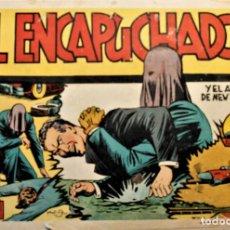 """Giornalini: EL ENCAPUCHADO, EDITORIAL CLIPER 1950, NÚMERO """"EL AZOTE DE NEW YORK"""". Lote 257846980"""