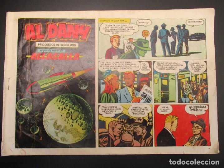 AL DANY (1953, CLIPER) 2 · 1953 · PRISIONEROS DE ZOOGLUNN (Tebeos y Comics - Cliper - Otros)