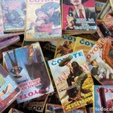 """Tebeos: COLECCION DE 94 NOVELAS DE """"EL COYOTE"""" J. MALLORQUIN ORIGINALES AÑOS 60. Lote 260362510"""