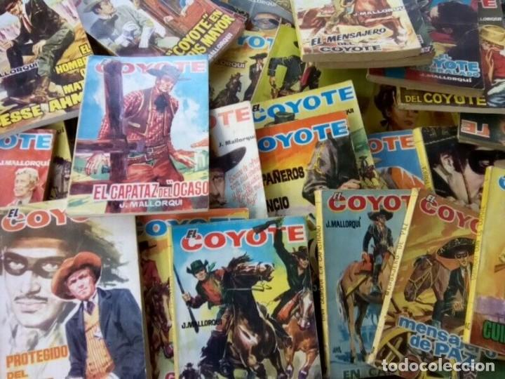 """Tebeos: COLECCION DE 85 NOVELAS DE """"EL COYOTE"""" J. MALLORQUIN ORIGINALES AÑOS 60 - Foto 2 - 260362510"""