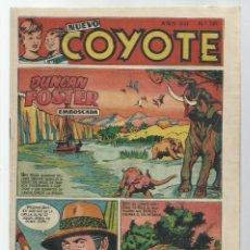 Giornalini: NUEVO COYOTE 181, 1953, CLIPER, BUEN ESTADO. Lote 260674095