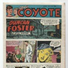 BDs: NUEVO COYOTE 186, 1953, CLIPER, BUEN ESTADO. Lote 260676045