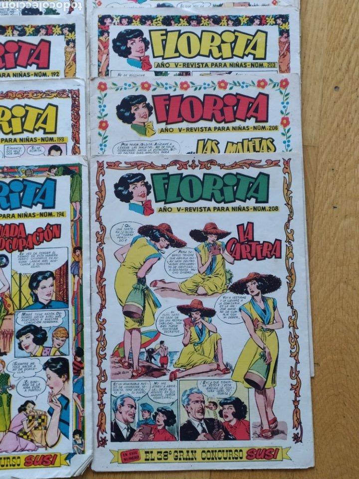 Tebeos: Florita - ediciones Cliper - lote de 18 - año V - Foto 2 - 260745005