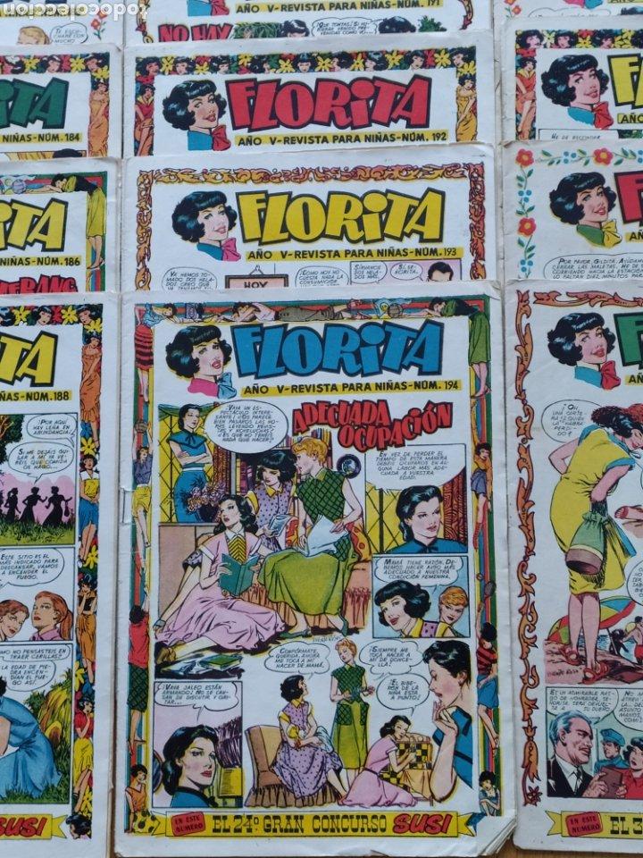 Tebeos: Florita - ediciones Cliper - lote de 18 - año V - Foto 3 - 260745005