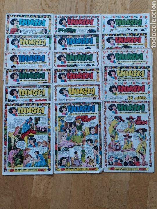 Tebeos: Florita - ediciones Cliper - lote de 18 - año V - Foto 5 - 260745005