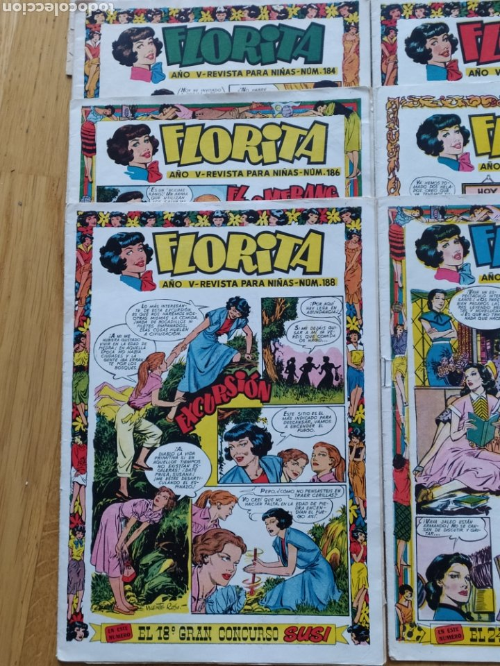 Tebeos: Florita - ediciones Cliper - lote de 18 - año V - Foto 4 - 260745005