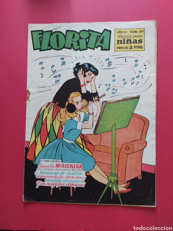 FLORITA N°339 - EDICIONES CLIPER - AÑO VI (Tebeos y Comics - Cliper - Florita)