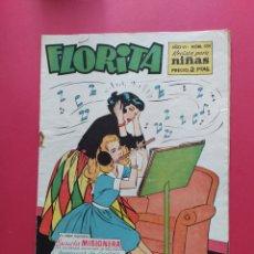 Tebeos: FLORITA N°339 - EDICIONES CLIPER - AÑO VI. Lote 260746255