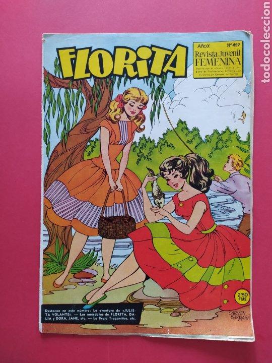 FLORITA N°459 - EDICIONES CLIPER - AÑO X (Tebeos y Comics - Cliper - Florita)