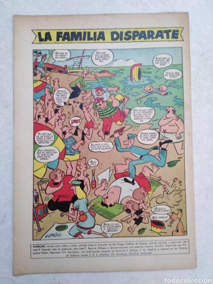 Tebeos: Pinocho, revista infantil, segunda época, año 1-número 6 - Foto 2 - 261138180