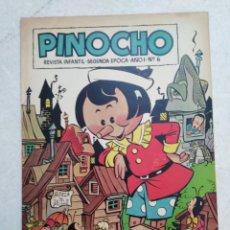 Tebeos: PINOCHO, REVISTA INFANTIL, SEGUNDA ÉPOCA, AÑO 1-NÚMERO 6. Lote 261138180
