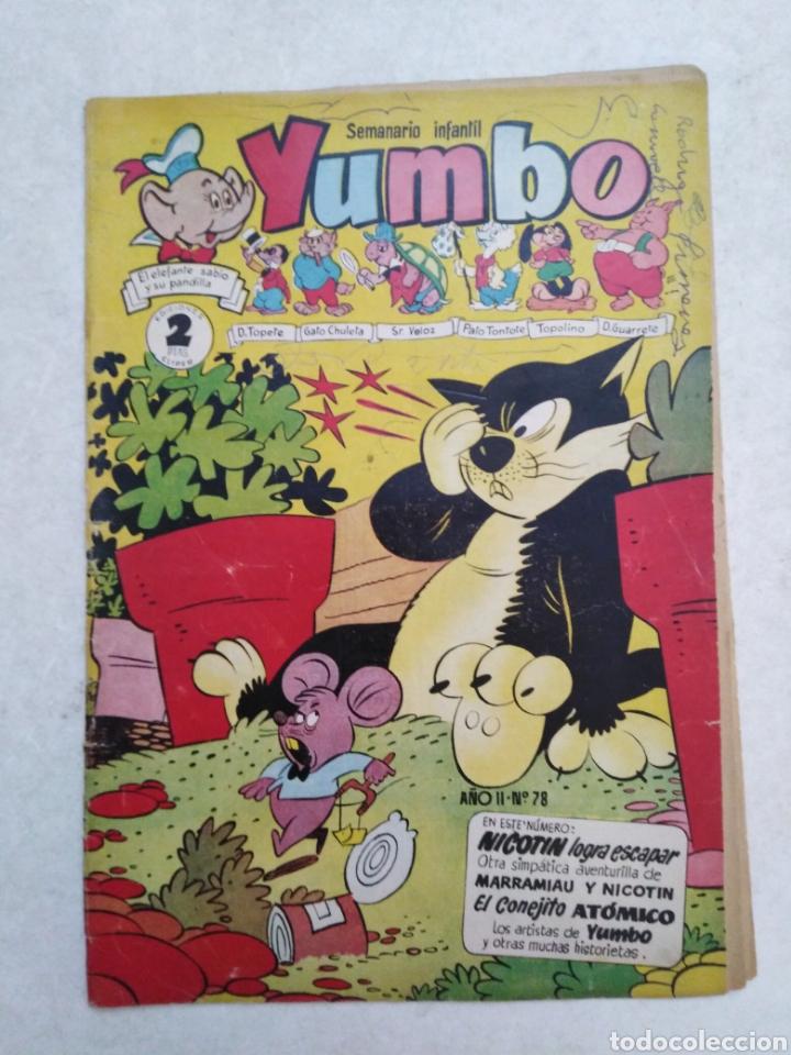Tebeos: Lote de 12 cómic yumbo - Foto 7 - 261139185