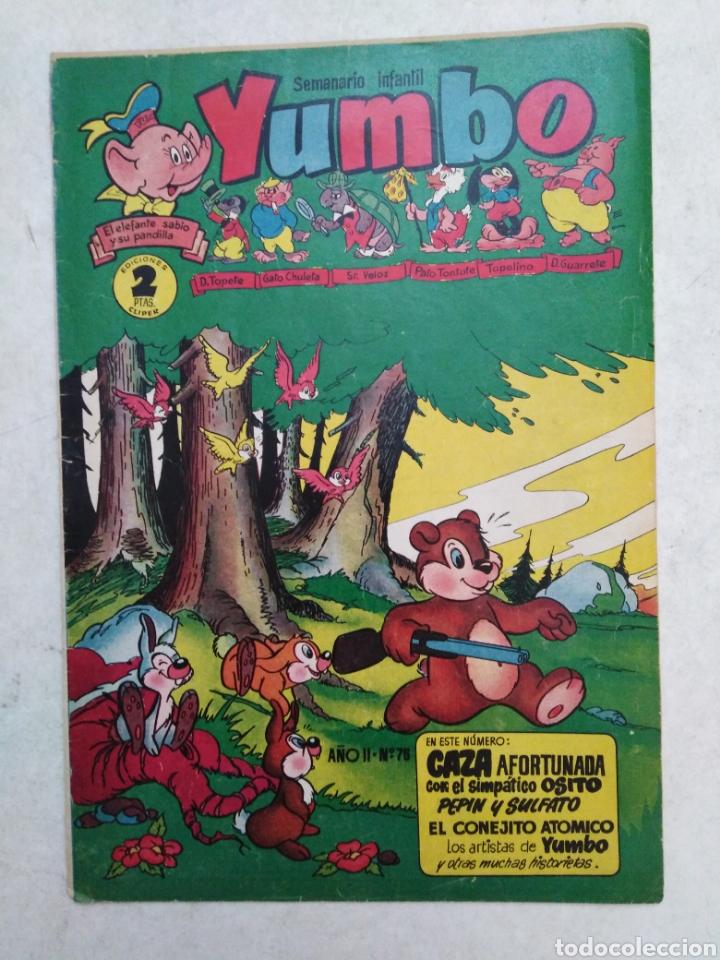 Tebeos: Lote de 12 cómic yumbo - Foto 12 - 261139185