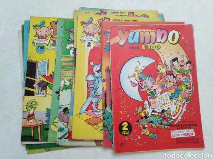 LOTE DE 12 CÓMIC YUMBO (Tebeos y Comics - Cliper - Yumbo)