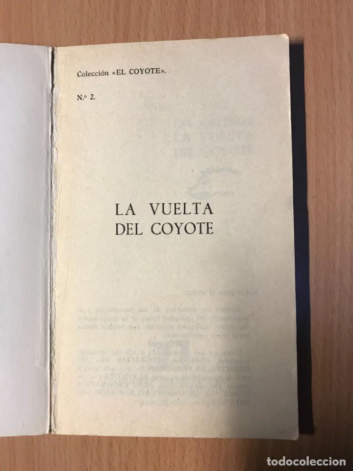 Tebeos: LOTE DOS LIBROS EL COYOTE Nº2 Y Nº4 AÑO 1973 - Foto 2 - 261222820