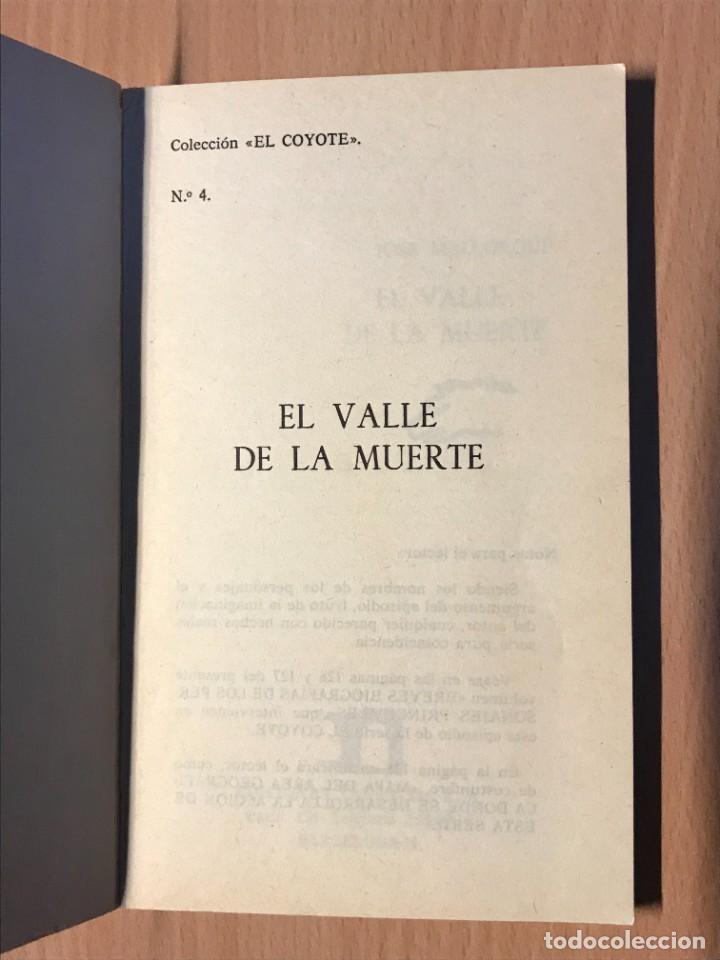 Tebeos: LOTE DOS LIBROS EL COYOTE Nº2 Y Nº4 AÑO 1973 - Foto 4 - 261222820