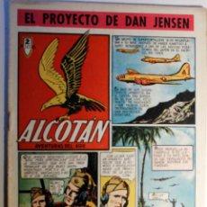 Tebeos: ALCOTAN, AVENTURAS DEL AIRE, EDITORIAL CLIPER 1952, NÚMERO 1 ORIGINAL. Lote 262267075