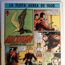 Tebeos: ALCOTAN, AVENTURAS DEL AIRE, EDITORIAL CLIPER 1952, NÚMERO 4 ORIGINAL. Lote 262267745