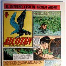 Tebeos: ALCOTAN, AVENTURAS DEL AIRE, EDITORIAL CLIPER 1952, NÚMERO 6 ORIGINAL. Lote 262268300