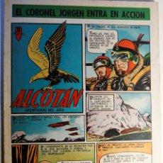 Tebeos: ALCOTAN, AVENTURAS DEL AIRE, EDITORIAL CLIPER 1952, NÚMERO 7 ORIGINAL. Lote 262268840