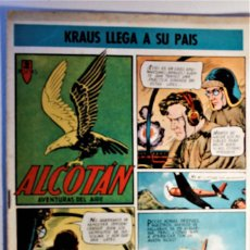 Tebeos: ALCOTAN, AVENTURAS DEL AIRE, EDITORIAL CLIPER 1952, NÚMERO 8 ORIGINAL. Lote 262269530