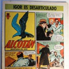 Tebeos: ALCOTAN, AVENTURAS DEL AIRE, EDITORIAL CLIPER 1952, NÚMERO 10 ORIGINAL. Lote 262269990