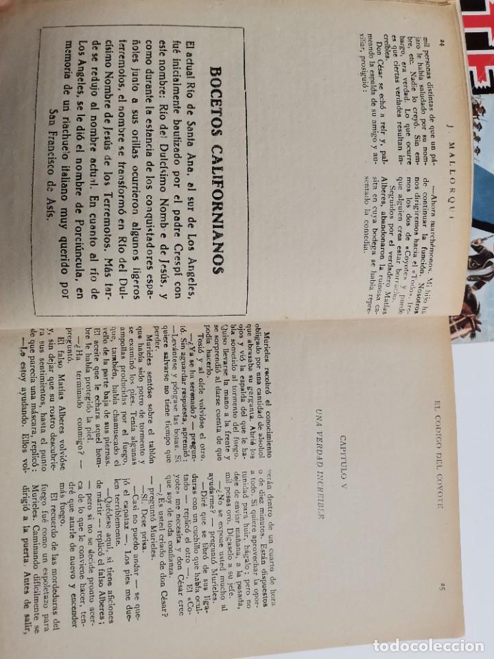 Tebeos: RV-223. 23 COMICS COYOTE. J.MALLORQUI. ED. CLIPER. ED.CLIPER. MEDIADOS S.XX. - Foto 5 - 267175544