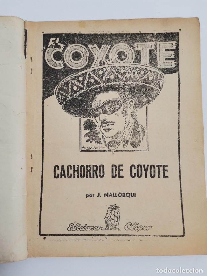Tebeos: RV-223. 23 COMICS COYOTE. J.MALLORQUI. ED. CLIPER. ED.CLIPER. MEDIADOS S.XX. - Foto 8 - 267175544