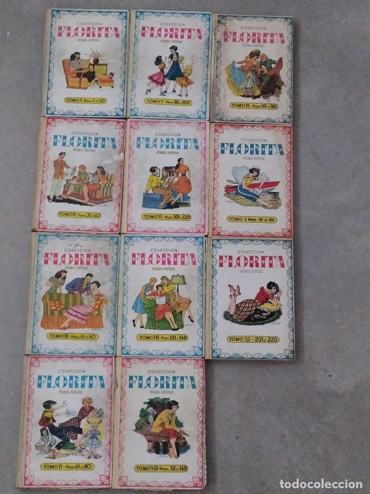 FLORITA - DESDE EL Nº 1 AL Nº 440 - TOMOS DEL I AL XXII (Tebeos y Comics - Cliper - Florita)