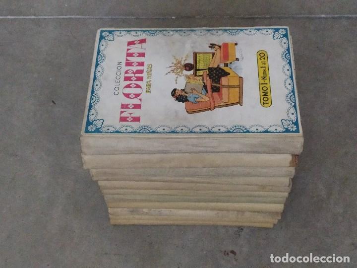 Tebeos: FLORITA - DESDE EL Nº 1 AL Nº 440 - TOMOS DEL I AL XXII - Foto 2 - 267292009