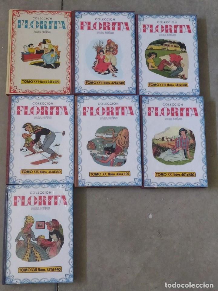 Tebeos: FLORITA - DESDE EL Nº 1 AL Nº 440 - TOMOS DEL I AL XXII - Foto 3 - 267292009